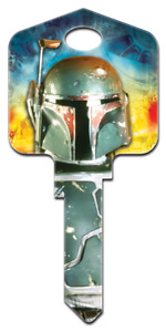 Star Wars Boba Fett House Key - Collectable Key - Star Wars - Suits LW4