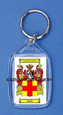 JACOBS (SPANISH) COAT OF ARMS KEY RING