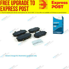 TG Front Replacment Brake Pad Set DB1206 fits Honda HR-V 1.6 16V 4x4