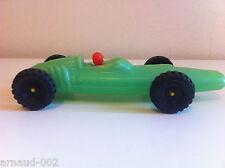 Ancienne voiture de course F1 en plastique soufflé type Lotus 24 Cm Vintage