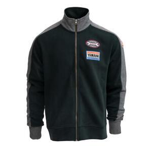 Yamaha Faster Son's 'Bedias' Men's Grey Zip-up Sweatshirt