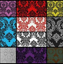 Taffeta Damask Color Variety Fabric Grab Bag Remnant Lot Craft Sewing Stash Doll