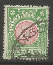 Timbres d'Australie et d'Océanie verts
