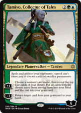 Tamiyo, Collector of Tales x4 Magic the Gathering 4x War of the Spark mtg card l