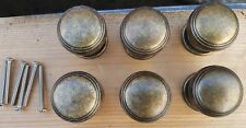 Set of 6 Antique Bronze Knobs Handles Kitchen Bedroom Cabinet Doors Drawers XL