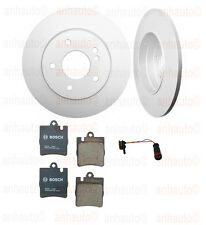 Mercedes W203 C230 Sedan 03-07 BOSCH Ceramic Rear Brake KIT with Sport Package
