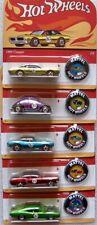 50 Jahre Hot Wheels Set US-Cars Classic Redliner  5 pcs   / Hot Wheels 1:64