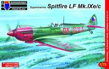 Kovozavody Prostejov 1/72 Supermarine Spitfire LF Mk.IXE/C # 7267