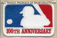1969 MLB Baseball 100th Anniversary COOPERSTOWN COLLECTION PATCH Willabee & Ward