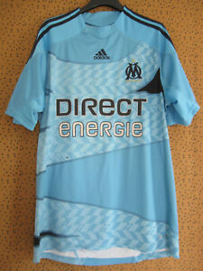 Maillot Adidas Olympique Marseille Direct energie 2009 OM Vintage - L
