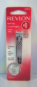 Revlon Nail Clip with Fold Away File 32410