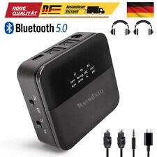 Bluetooth 5.0 Audio Adapter Transmitter Empfänger für TV Laptop Stereoanlage DE