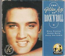 The Golden Age Of Rock 'N' Roll 3CD ELVIS PRESLEY BUDDY HOLLY JERRY LEE LEWIS