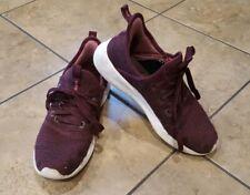 Adidas Womens Cloudfoam Pure Burgundy Running Shoes Size 6.5