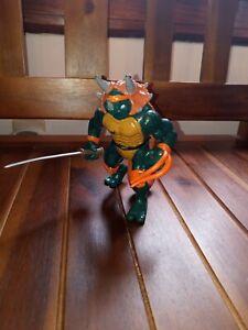 Teenage Mutant Ninja Turtles TMNT 1997 Dino Turtles Tricera Mike Michaelangelo