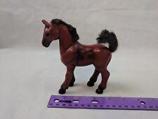 "Kid Kore 1990 Pony Horse, 5"" Tall Dark Brown/Black"