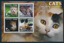 Postfrische Briefmarken aus Afrika mit Katzen-Motiv