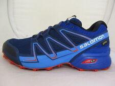 SALOMON SPEEDCROSS VARIO GTX Trail Zapatos De Hombre UK 8 nos 8.5 EUR 44 ref 1577 *