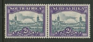 South Africa 1945-47 2d with White spot top right corner R 18/2 SG 107a Mint.