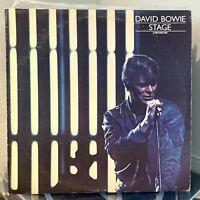 DAVID BOWIE Stage 2xLP 1978 RCA ORIG US PRESS CPL2-2913 NM- / VG+