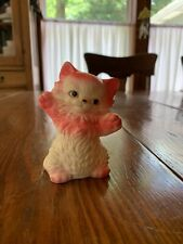 Vintage Ruth E Newton Sun Rubber Squeaker Works Frisky Kitty Free Shipping L@k!