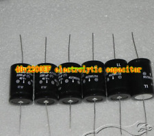 40V2200UF Filter Axial electrolytic capacitor Copper foot Electrical Equipment