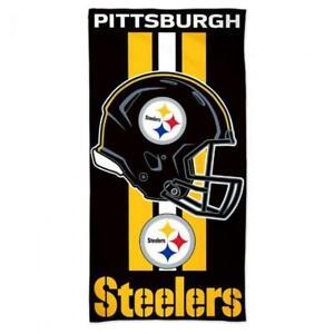Pittsburgh Steelers 30x60 Beach Towel [NEW] NFL Blanket Vacation Summer Pool