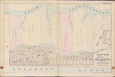 1896 A.H. MUELLER, VENTNOR, ATLANTIC CITY, NEW JERSEY, COPY PLAT ATLAS MAP