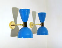 WALL LAMP Applique - OTTONE - Light BLUE - DEYROO Lighting Italy