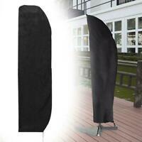 Sonnenschirmhülle Abdeckung Schutzhülle für Ampelschirm Garten Abdeckhaube Y5N0