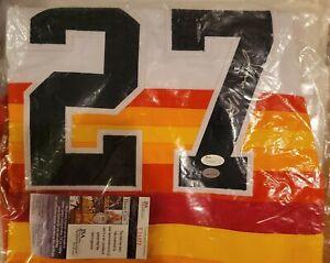 Jose Altuve Autographed Houston Astros Custom Throwback Baseball Jersey -JSA COA
