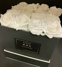 Forever Flowers In A Box - Foam Roses - Artificial - Unique Gift - New Home