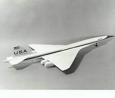 1971 Original Photo Boeing US SST Supersonic Transport Aircraft prototype model