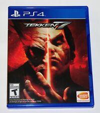Replacement Case (NO GAME) Tekken 7 Playstation 4 Original Box