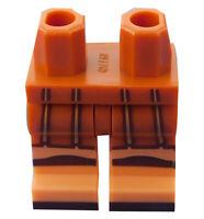 Lego Beine in dunkelorange für Minifigur 970c00pb0729 Hosen Hercules Neu