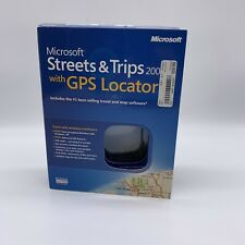 Microsoft Streets and Trips 2006 With GPS Locator Free Shipping