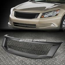 FRONT UPPER BUMPER/HOOD MESHED ABS GRILL/GRILLE/FRAME 08-10 ACCORD 4DR CP2 CP3