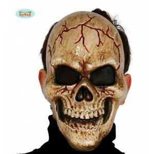 Mask Skull of Darkness Maschera Teschio Tenebre PVC Art.2785 Guirca One Size