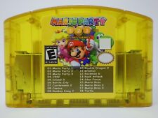 Mario Party 1 2 3 Nintendo 64 N64 + 15 Classic NES Games 18 in 1 Game Cartridge