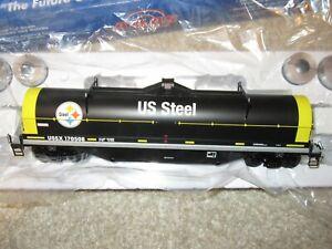 Atlas 3002719-4 US Steel 42 ft Coil car   LN 3 rail