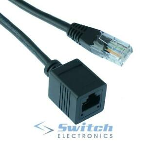 RJ45 Cat5e Network Ethernet Extension Cable Male to Female 50cm to 10m