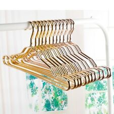 Metal Clothes Hangers For Clothes Clothing Cloth Space Saving Rose Gold Skirt