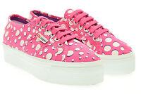 SUPERGA scarpe donna sneakers platform S007EJ0 2790 fantasy cotw P16