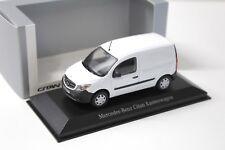 1:43 Minichamps Mercedes Citan Panel Van white DEALER NEW bei PREMIUM-MODELCARS