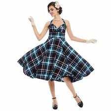 Unbranded Spring Plaid Dresses for Women