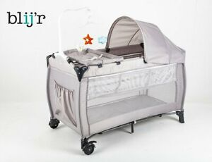 Blij 'R Dormi Lit de Voyage pour Enfants Baby-Bett Bébé Pliant Parc à