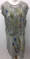 "Sarah Santos Layering Tie Dye Effect Dress Size L Bust Upto 58"""