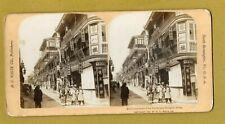 More details for shanghai china in the street of the tea houses stereo 1901 h c white ref q72