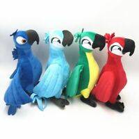 Cartoon 12'' Rio 2 Movie Plush Toy Parrot Bird Stuffed Animal Doll Soft Gift Toy