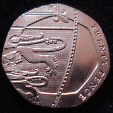 RARE ERROR UNDATED 2008 TWENTY PENCE 20p MULE COIN No.1